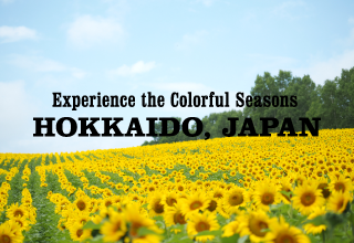 Exprience the Colorful Seasons HOKKAIDO JAPAN