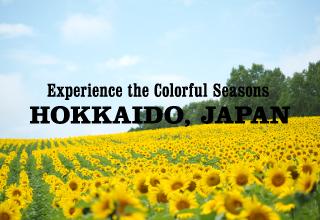 Exprience the Colorful Seasons HOKKAIDO JAPAN